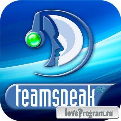 TeamSpeak v.3.0.18.1 (x86/x64) + Rus