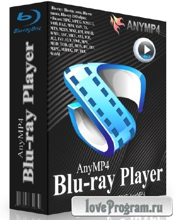 AnyMP4 Blu-ray Player 6.1.72 + Rus