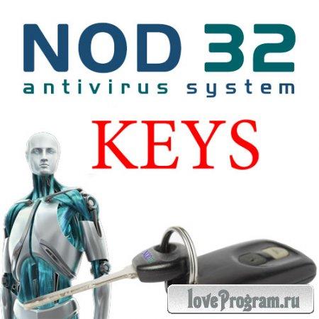 Свежие ключи и файлы лицензии для Eset Nod32 Antivirus Smart Security (от 14.10.15)