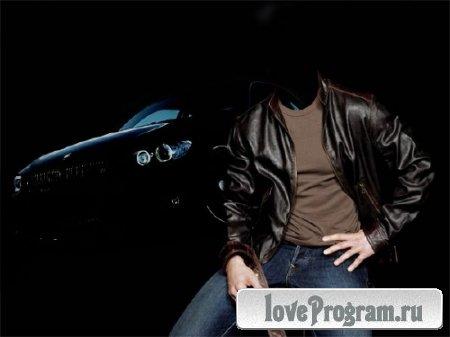 Шаблон для Photoshop - С BMW