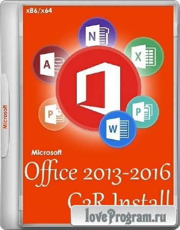 Office 2013-2016 C2R Install 6.0.4 Portable