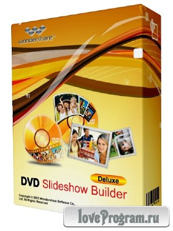 Wondershare DVD Slideshow Builder Deluxe 6.7.2 + Rus
