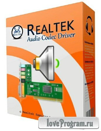 Realtek High Definition Audio Driver 6.0.1.8459 WHQL