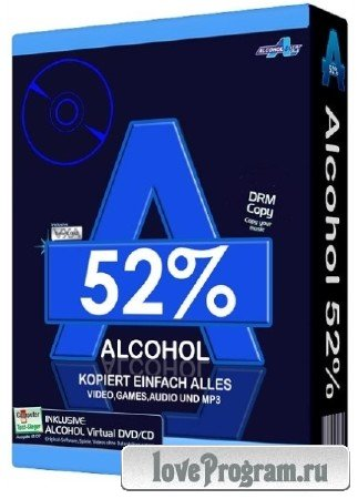 Alcohol 52% 2.0.3 Build 10521 Free Edition Final