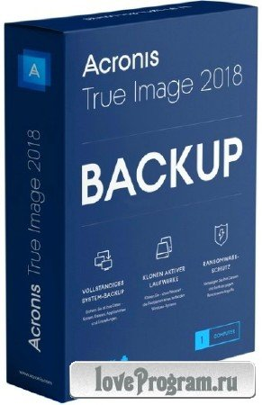 Acronis True Image 2018 Build 12510 Final