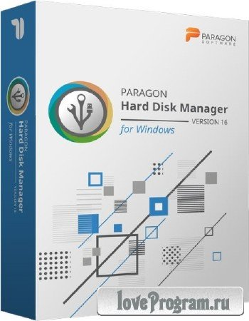 Paragon Hard Disk Manager 16.23.1 WinPE Edition