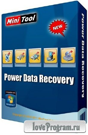 MiniTool Power Data Recovery 8.1 Personal Standard + Rus
