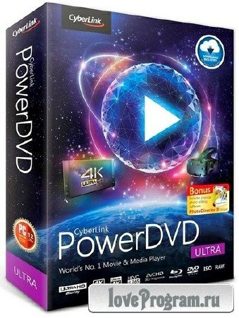 CyberLink PowerDVD Ultra 18.0.2107.62