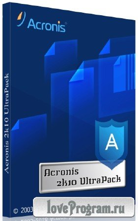 Acronis 2k10 UltraPack 7.20