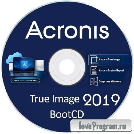 Acronis True Image 2019 Build 14610 Final BootCD