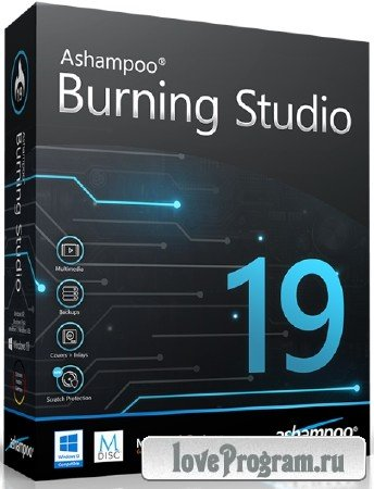 Ashampoo Burning Studio 19.0.3.11 RePack & Portable by KpoJIuK