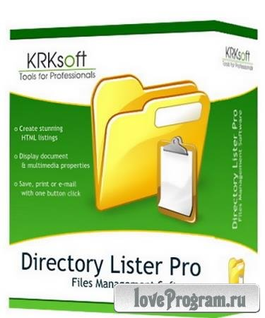 Directory Lister Pro 2.35 Enterprise Edition