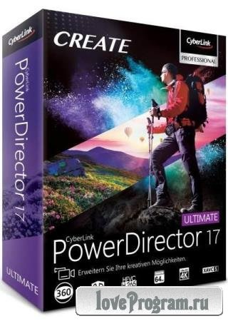 CyberLink PowerDirector Ultimate 17.0.2514.2 + Rus