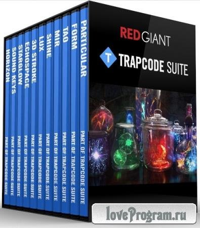 Red Giant Trapcode Suite 15.1.1