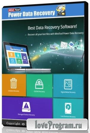 MiniTool Power Data Recovery Business Technician 8.1 WinPE ISO