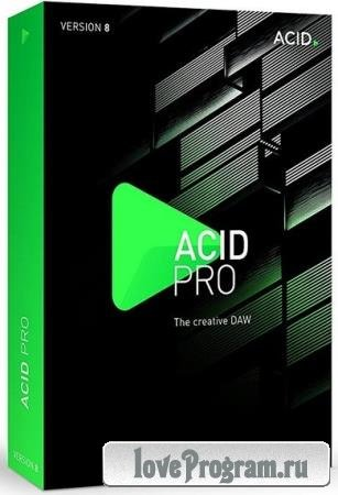 MAGIX ACID Pro 8.0.8 Build 29