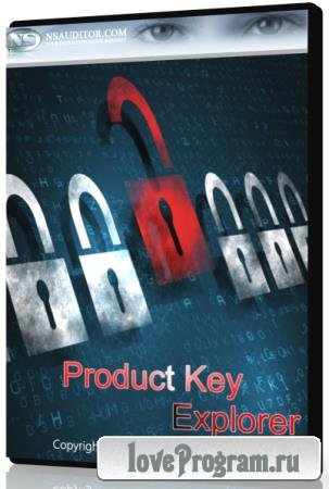 Nsasoft Product Key Explorer 4.1.1.0 + Portable
