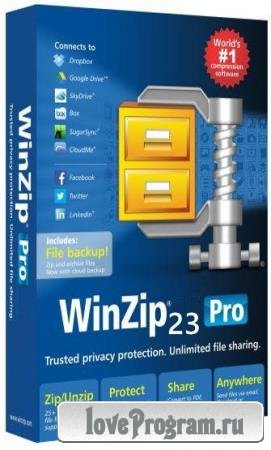 WinZip Pro 23.0 Build 13431 Russian