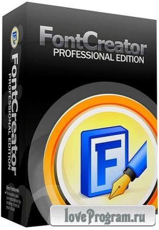 High-Logic FontCreator Professional Edition 12.0.0.2535