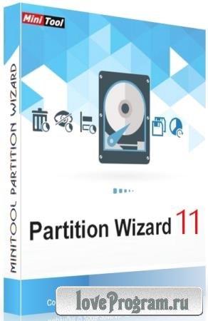 MiniTool Partition Wizard 11.4 Technician + Rus