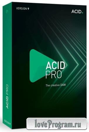 MAGIX ACID Pro 9.0.1.24 RePack by KpoJIuK