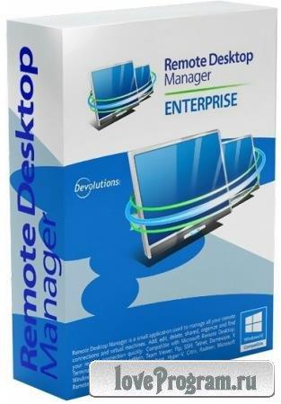 Remote Desktop Manager Enterprise 2019.1.31.0