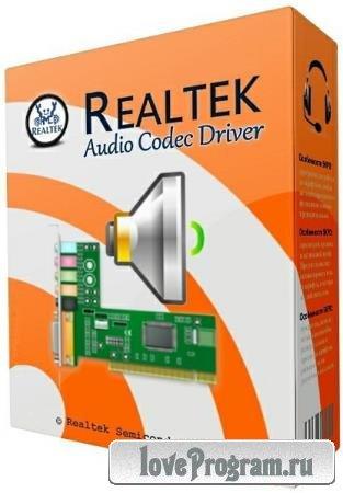 Realtek High Definition Audio Driver 6.0.8734.1 WHQL