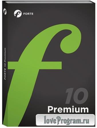 Forte Notation FORTE 10 Premium 10.1.2 Retail + Rus