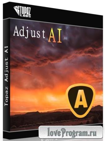 Topaz Adjust AI 1.0.3