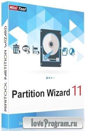 MiniTool Partition Wizard 11.5 Technician + Rus