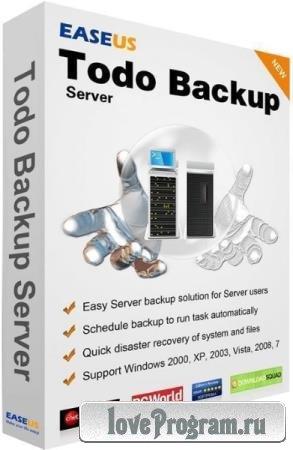 EaseUS Todo Backup Advanced Server 12.0.0.2