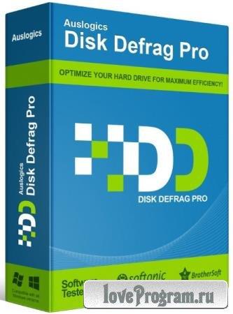 Auslogics Disk Defrag Pro 9.0.0.2 + Rus