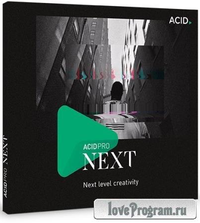 MAGIX ACID Pro Next 1.0.1.24