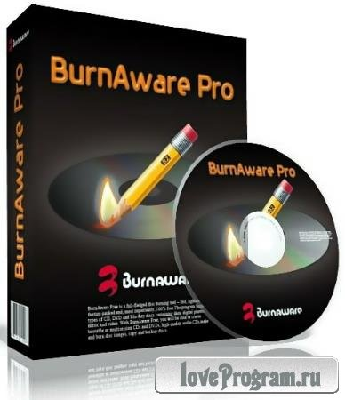 BurnAware 12.5 Professional RePack & Portable by KpoJIuK