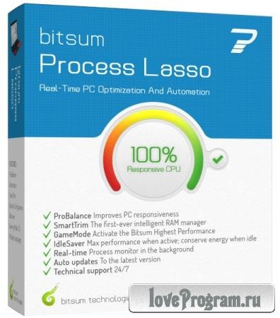 Process Lasso Pro 9.3.0.22 RePack & Portable by TryRooM