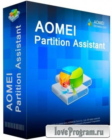 AOMEI Partition Assistant Technician 8.4.0 RePack by KpoJIuK
