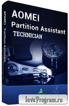 AOMEI Partition Assistant Technician 8.4 Bootable Media