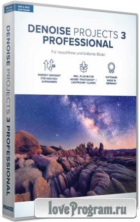 Franzis DENOISE projects 3 professional 3.32.03498 Portable by conservator