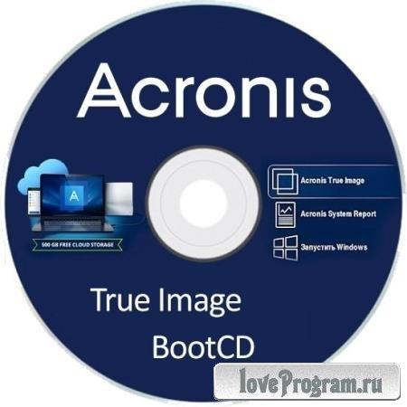 Acronis True Image 2020 Build 20600 BootCD