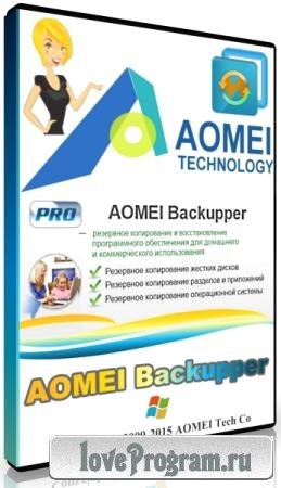 AOMEI Backupper Professional / Technician / Technician Plus / Server 5.2.0 + Rus