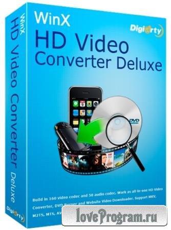 WinX HD Video Converter Deluxe 5.15.3.321 DC 26.08.2019 + Rus
