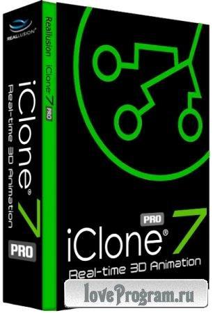 Reallusion iClone Pro 7.6.3201.1
