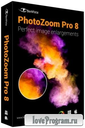 Benvista PhotoZoom Pro 8.0.4 RePack & Portable by KpoJIuK