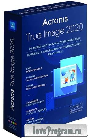 Acronis True Image 2020 24.3.1.20770 RePack by KpoJIuK