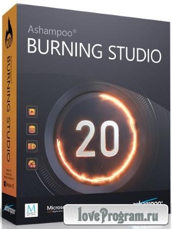 Ashampoo Burning Studio 20.0.4.1 Final DC 06.09.2019