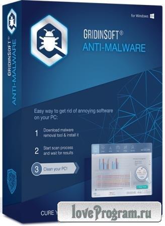 GridinSoft Anti-Malware 4.1.3.295