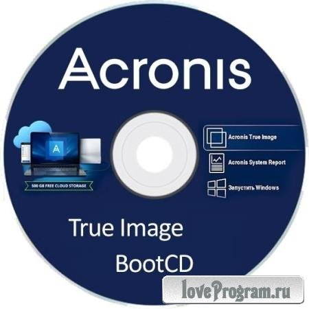 Acronis True Image 2020 Build 21400 Final BootCD