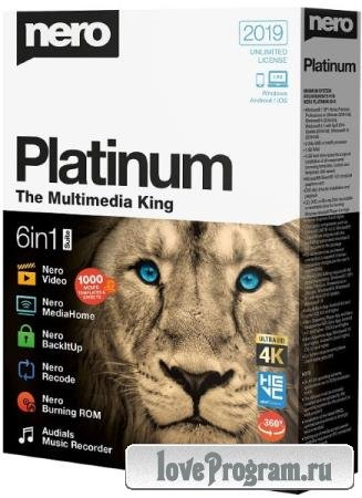 Nero Platinum 2020 Suite 22.0.00900 + Content Pack