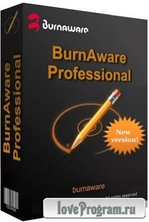 BurnAware 12.7 Professional RePack & Portable by KpoJIuK