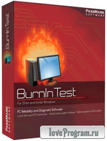 PassMark BurnInTest Pro 9.0 Build 1017 Final
